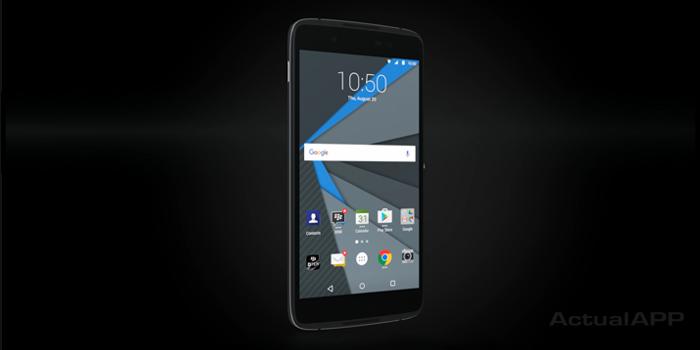 blackberry dtek50 actualapp portada