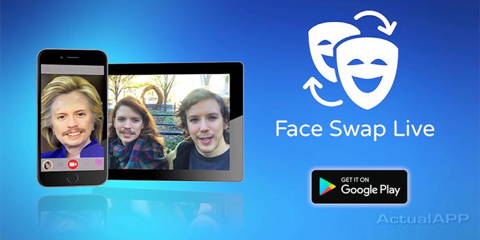 face swap live ios y android actualapp portada