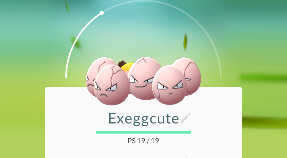 pokemon go exeggute