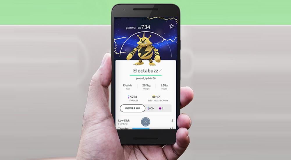pokemon go ficha electabuzz