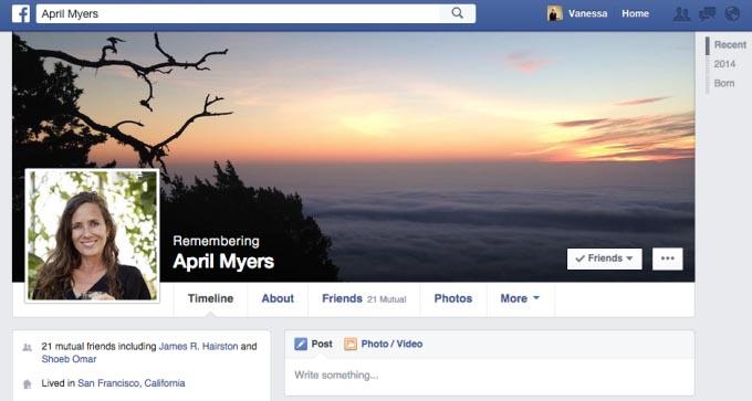 contacto de legado facebook cuenta conmemorativa legacy-contact_timeline