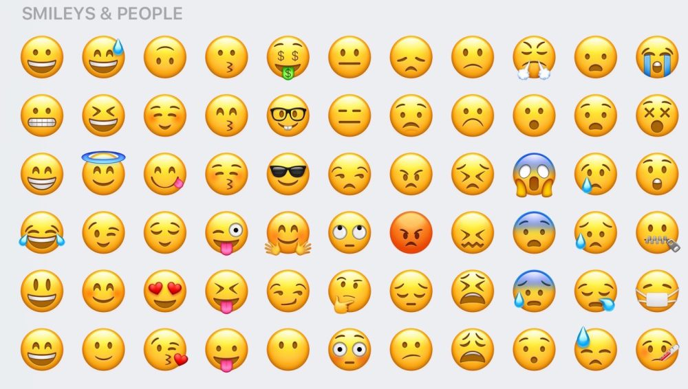 emoji ios 10 rediseño clasicos
