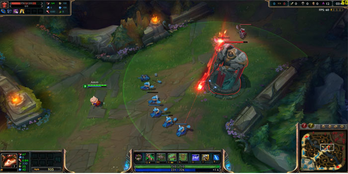 League of Legends en Smartphone