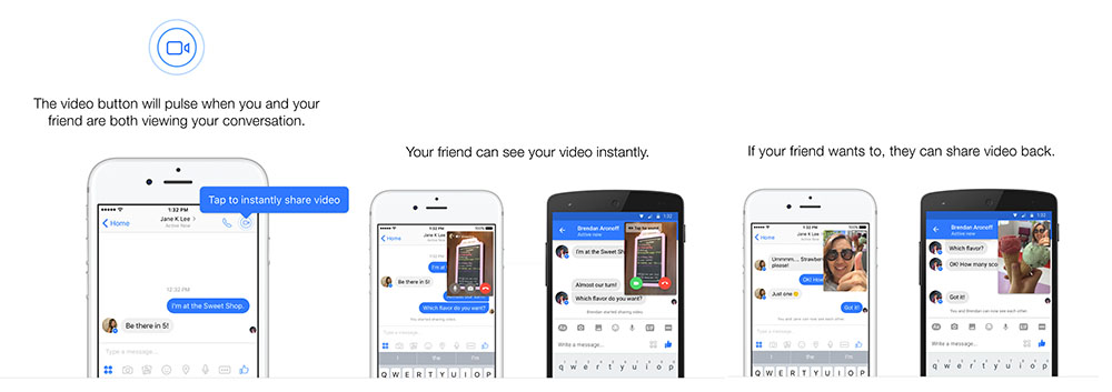 facebook messenger instant videos tutorial