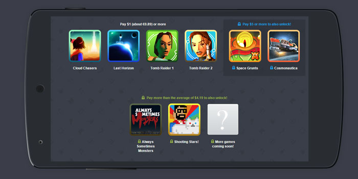 Humble Mobile Bundle de Tomb Raider