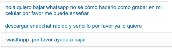 whatsapp por favor captura actualapp