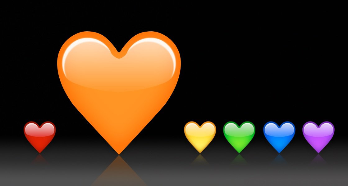 emoji-unicode-10-orange-heart