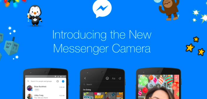 editor de fotos de facebook messenger