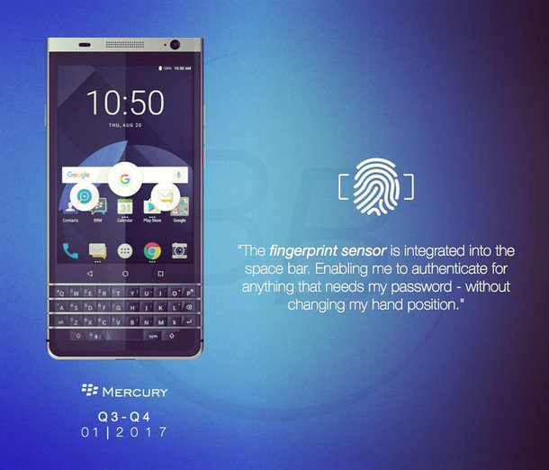 gif de la blackberry mercury