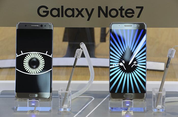 por que explotaron samsung galaxy note 7