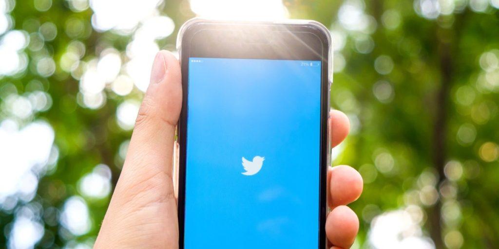 cuenta en la app de twitter