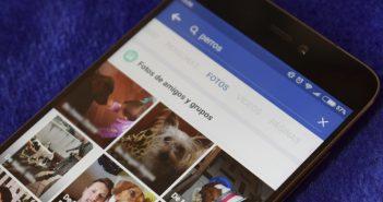 búsqueda por contenido de facebook