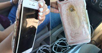 iphone 7 plus en llamas