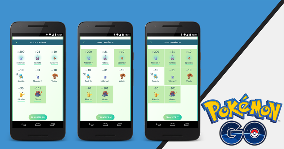 las batallas entre usuarios en Pokemon GO