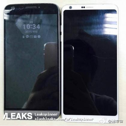 LG G6 y LG G5