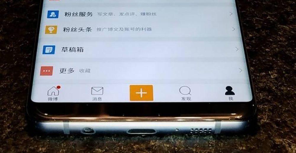 otra foto real del Samsung Galaxy S8