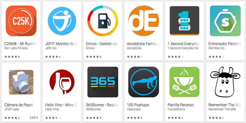Google Play celebra el dia del padre