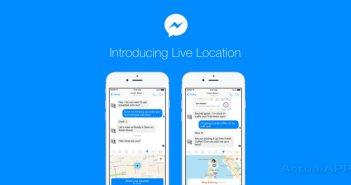 Facebook Messenger localizacion en tiempo real de Messenger