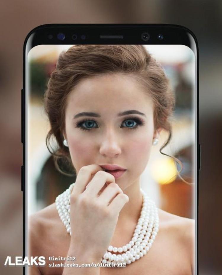 fotos oficiales del Galaxy S8
