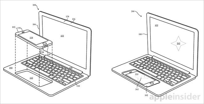 iphone y ipad en un portatil