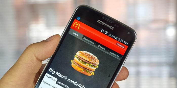 pedir desde el móvil en McDonald's