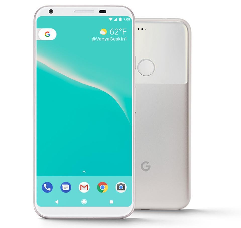 rumores del google pixel 2