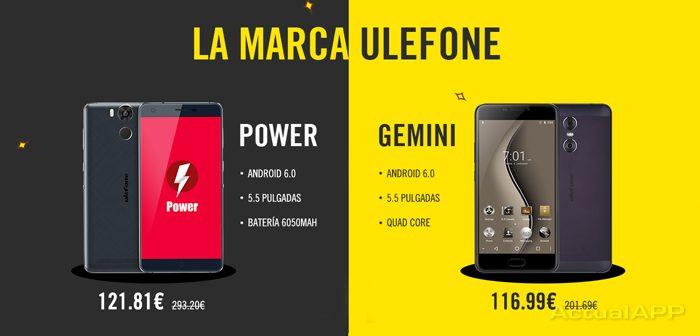 Ulefone Power y Ulefone Gemini