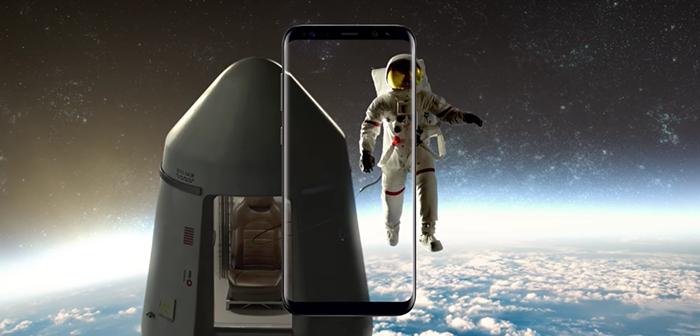 videos promocionales del galaxy s8