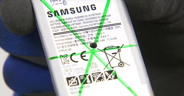 la bateria del galaxy s8 es muy segura