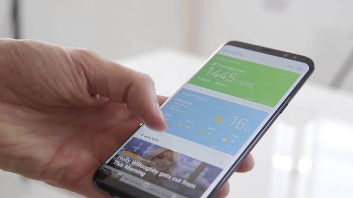 botones de navegacion del Galaxy S8