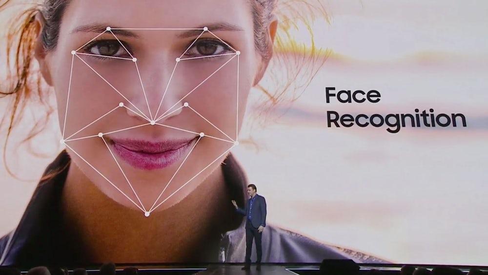 reconocimiento facial del galaxy s8
