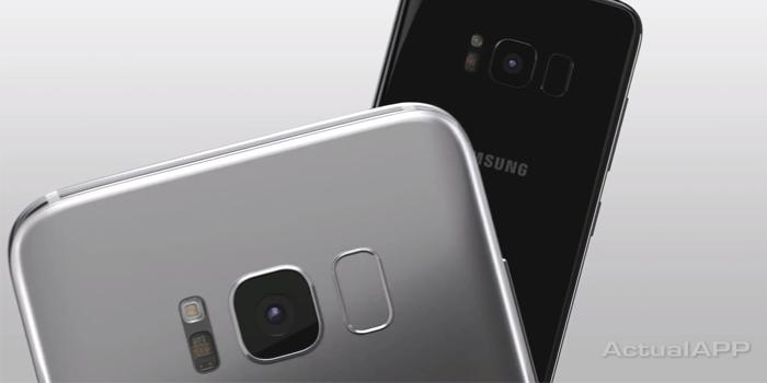 cámara del galaxy s8