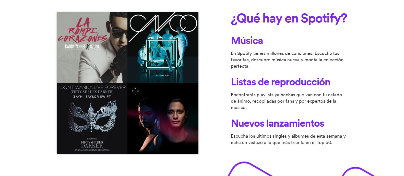 álbumes exclusivos de Spotify Premium