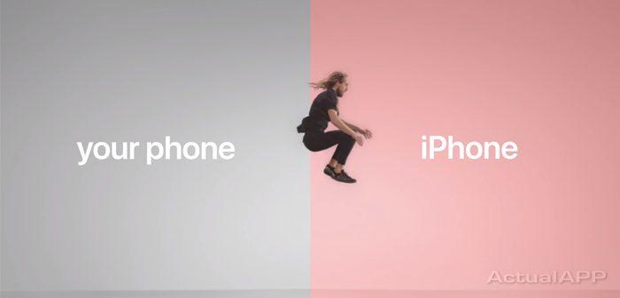 Apple ridiculizando a Android