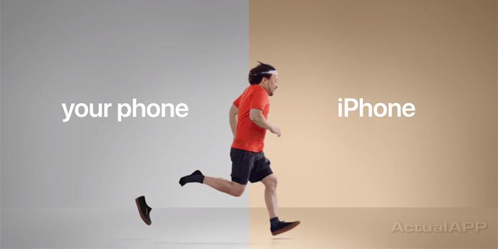 apple se ríe de android