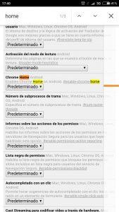 barra de direcciones de Chrome