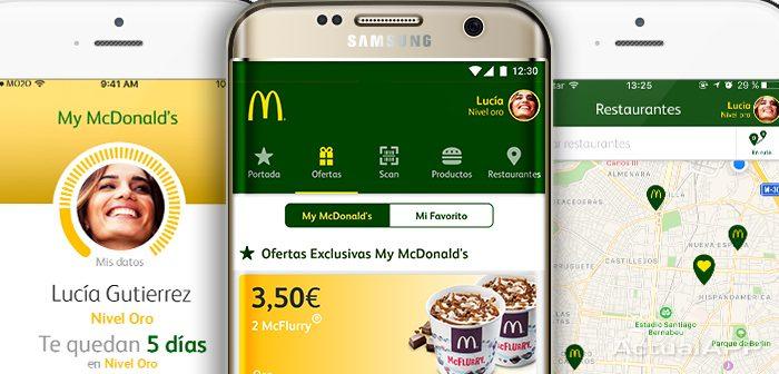 app de mcdonald's