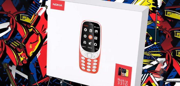 diseño del nokia 3310