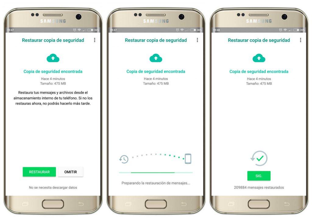 Recuperar conversaciones whatsapp iphone copia de seguridad antigua