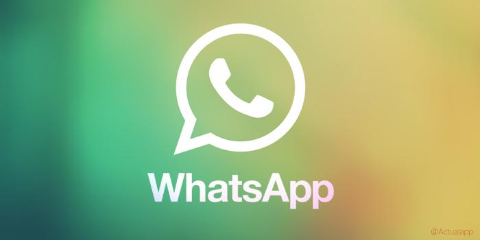 Whatsapp trae nuevas funciones en su actualización en iOS