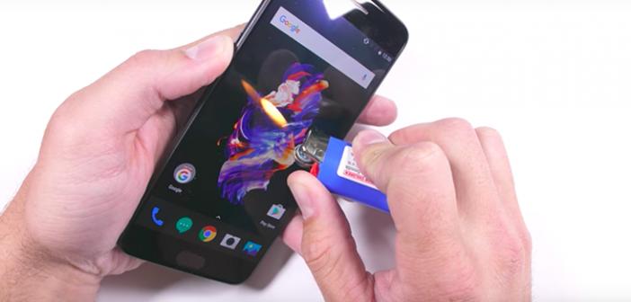 test de dureza del OnePlus 5
