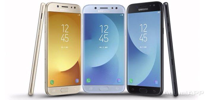 Samsung Galaxy J7 (2017) Galaxy J5 (2017) Galaxy J3 (2017)