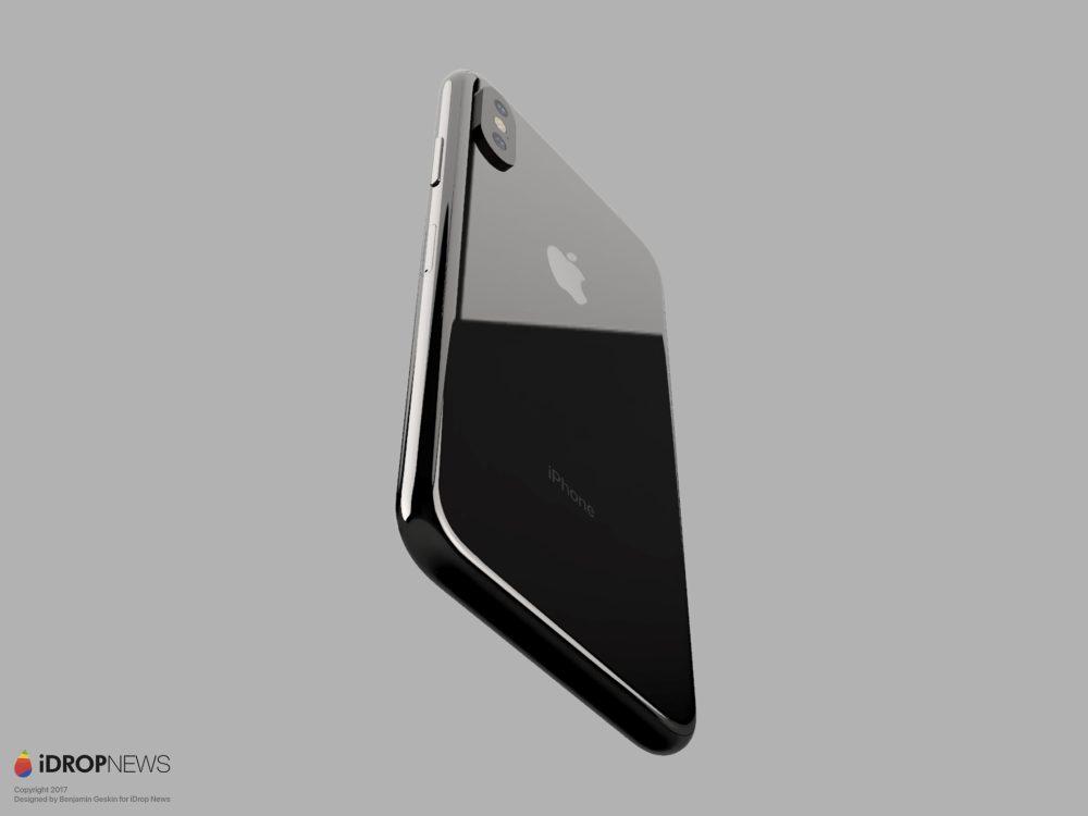 diseno del iphone 8