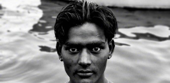 foto en blanco y negro tomada con el oneplus 5 2