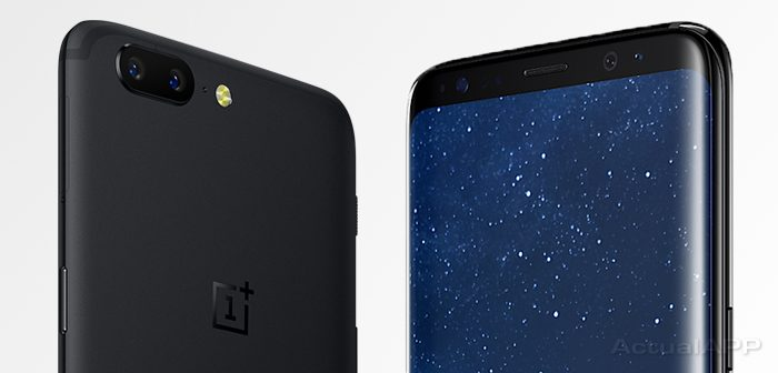 galaxy s8 vs oneplus 5