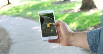 Pokémon GO con la realidad aumentada de Apple