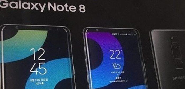 primera imagen oficial del galaxy note 8