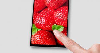 smartphone sin marcos de Sony