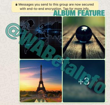 álbumes de whatsapp