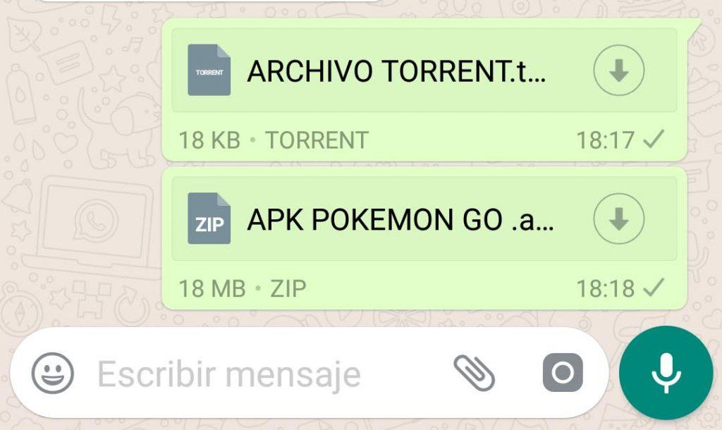 WhatsApp ya nos deja enviar cualquier tipo de archivo
